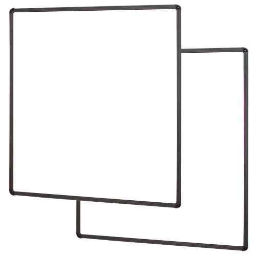 SWBW whiteboard side wings for display mounts by Conen