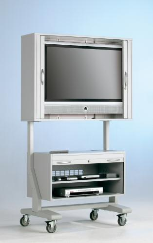 Scl U Gg Tv Cart On Wheels Rack Mobile Very Le
