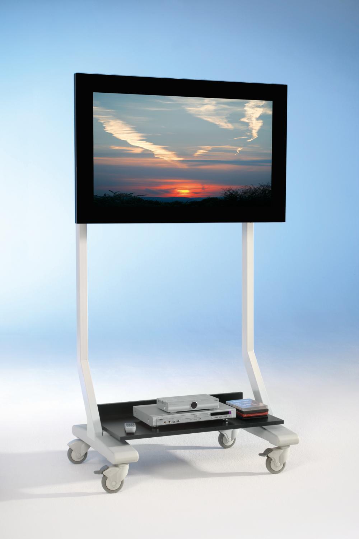 SCM-AF TV cart on wheels, TV rack up to 70